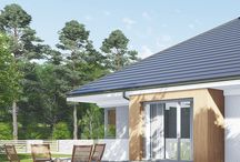 PARTEROWE - Nasze Domy / Kolekcja domów parterowych pracowni Domowe Klimaty.