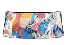 Belt 14 cm - Not Just One Flower / Women Leather Belt, Limited Edition Designer Leather Belt COLOURS OF MY LIFE - Limited Edition wearable art signed by Anca Stefanescu.