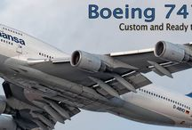 Boeing 747 Mahogany Models / The Queen of the Skies, now available in model form. Over 20 Ready to Ship and Custom 747 models available.