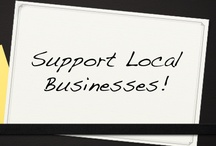 SUPPORTS LOCAL BUSINESS /  Locally Designed/ Produced/ Sourced Ideas