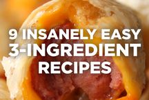 9 insane 3 ingredients recipes