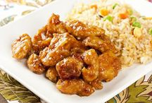 Simple orange chicken / by Nancy Conmy