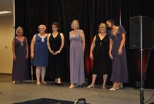 PRECIOUS CURVES ON THE RUNWAY / Our Precious Curves goes to the runway and here you can see our gowns on women of many different ages and sizes; real women.