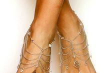 barefoot sandal / by Rosa Elena Hernandez Gilbert