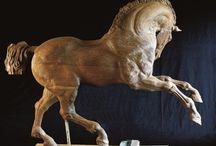 animal wood carvings