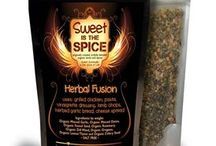 Recipes with Herbal Fusion / A salt-free organic fusion of herbs that are very aromatic when used in cooking. Combines rosemary, lemon thyme, dill weed, oregano, celery seed, fennel seed, minced garlic and minced onion. Also has many medicinal qualitites