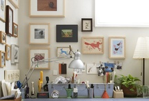 Creative spaces that inspire me
