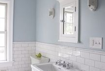 Dado bathroom rail