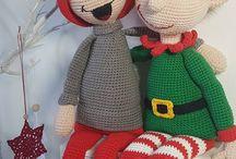 Christmas muñecos