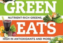 Best Green Eats Ever / Delicious Recipes for Nutrient-Rich Leafy Greens, High in Antioxidants and More.  My very own cook book filled with deliciously green soups, salads, sides, mains and even desserts! / by Katrine van Wyk