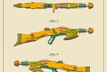 Sci-Fi Waffen