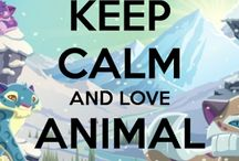 Animal Jam / AJ Beta, Rare, and Regular items and Animals.