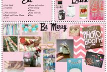 DIY Pink Bridal Shower