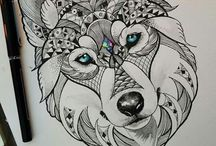 Tattoo Ideas Wolf