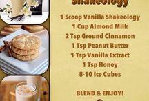 Shakeology recipes / by Tiffany Cottone