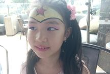Face Painting Ulang Tahun / Dokumentasi hasil face painting acara ulang tahun di sebuah cafe Mall Kasablanka