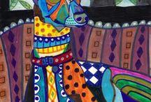 Greyhound Art / by Joanne Hall