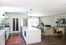 clermont kitchen/den / by Ann Yates Pate