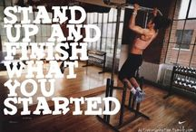 Sport motivations / Work hard for your perfect body!