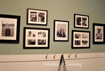 gallery walls / by Cathy Greene