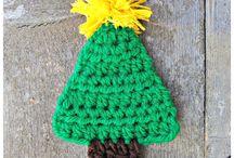 árbol crochet fácil