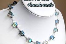 Crystal cube jewellery