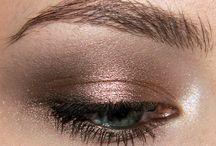 bronze gold glowy dewy sexy beauty makeup
