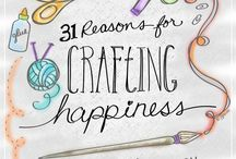 Craft Inspiration / All things crafts - crafts for all ages, any theme, any material. March is Craft Month, but crafting is fun all year long!