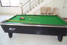 Game Zone At Karjat Villa / Few relaxation games which are available at Villa Pool Game Table Tennis Carom Cricket