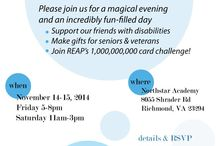 Artisan Showcase & Auction / November 14-15th, Friday 5-8pm, Saturday 11am-3pm Support artisans with disabilities