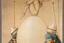 Michael Parkes art