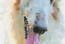 Ink: Watercolor / Watercolor paints.