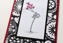 Karten mit American Art Stamps / Karen Stolper