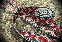 Belarusian woven bands / Woven bands from Belarus
