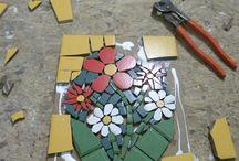 Trabalhos em musaico