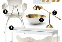 White&Gold / Decor