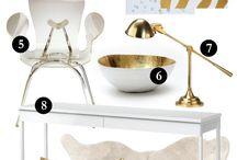 White&Gold / Decor