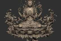 Buddha Statue / 3D Printing Project