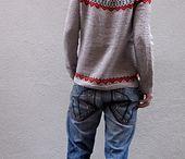 Knitting / Fair isle jumper