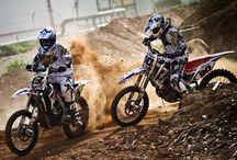 Moto dirt bikes