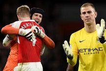 (GALERI FOTO) Arsenal Tumbangkan Man City / Arsenal menang tipis 2-1 atas Manchester City dalam lanjutan Liga Inggris pekan ke-17.