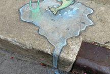 Street art david zinn