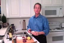 Dr. Bob's ABC's / Did you know you can lower your cholesterol 50% if you eat a 1/2 red apple, four to five baby carrots, and a third of a cup of beets everyday? That's worth a few pins!