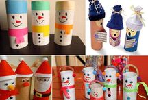 winter christmas crafts