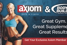 Exclusive offers for Axiom members / Here, you'll find exclusive offers for Axiom members only.