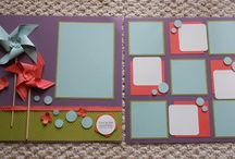 Scrapbook Layouts for Boys