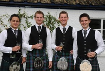 Real Men Wear Kilts / I'm of Scottish origin and just happen to love a handsome man wearing a kilt.