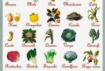 Calendario frutta e verdura di stagione