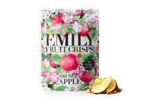 Emily Fruit Crisps / Branding for this exciting new range of snacks.