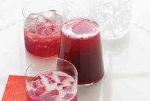 Cocktails & Mocktails / Get your drink on in style, even if it's non-alcoholic.  These are our favorite cocktail and mocktail recipes.